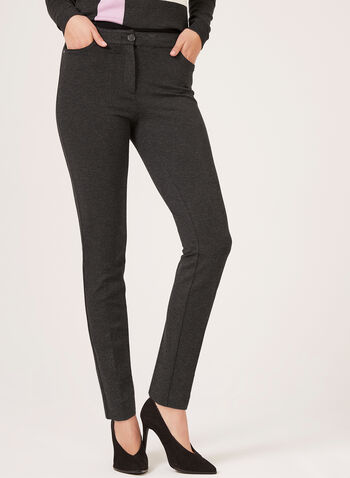 Modern Fit Slim Leg Pants, , hi-res
