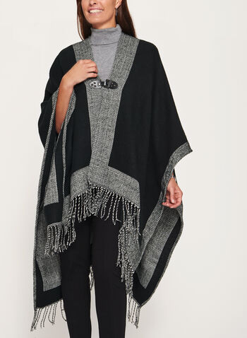 Front Buckle Poncho, , hi-res