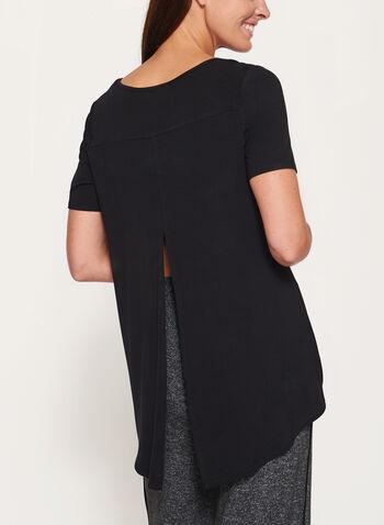 Split Back High-Low T-Shirt, , hi-res