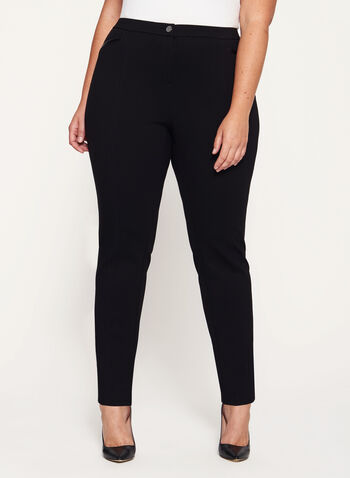 Signature Fit Slim Leg Pants, , hi-res