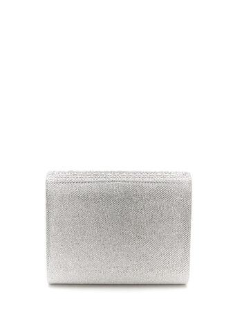 Square Foldover Glitter Clutch, , hi-res