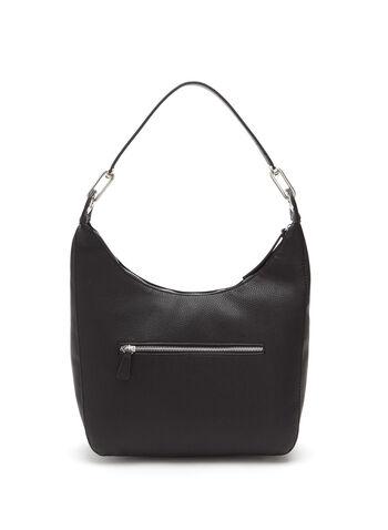 Hardware Handle Hobo Bag, , hi-res