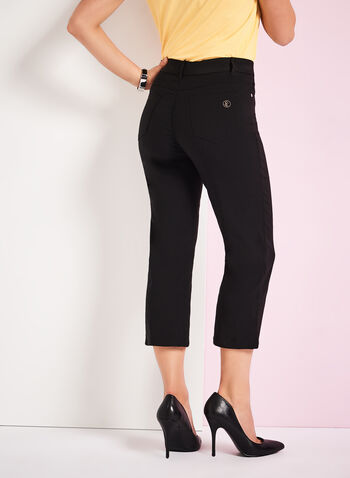 Simon Chang - Micro Twill Capri Pants, , hi-res