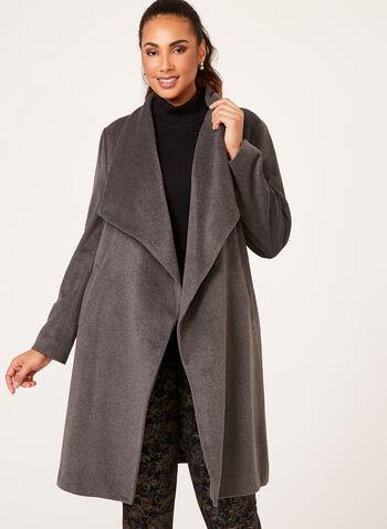 Cascade Front Coat, , hi-res