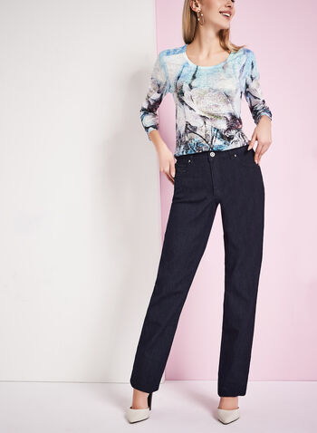 Simon Chang - Straight Leg Jeans, , hi-res