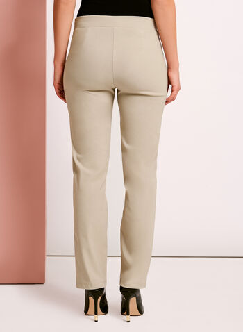 City Fit Pull On Straight Leg Pants, , hi-res