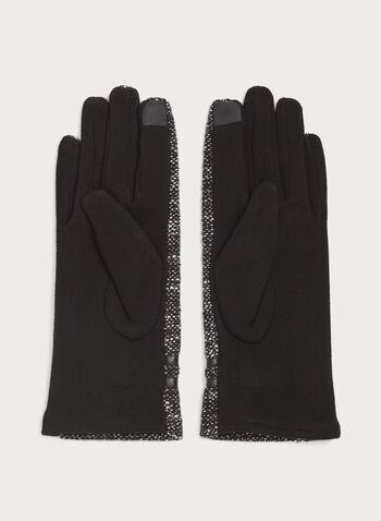 Pompom Knit Gloves, , hi-res