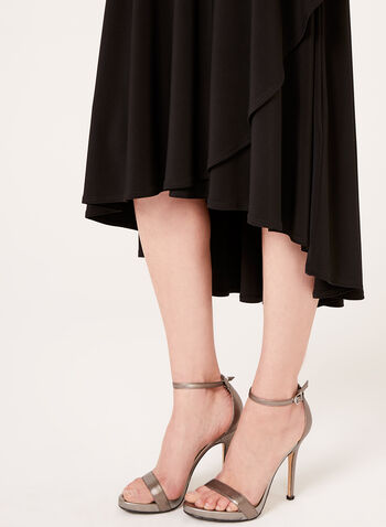 Pull-On Jersey Skirt, , hi-res