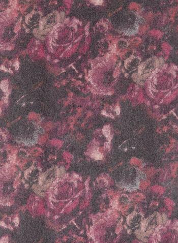 Floral Print Pashmina Scarf, , hi-res