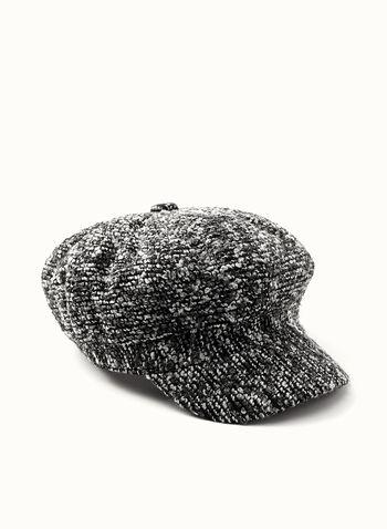 Tweed Newsboy Hat, , hi-res