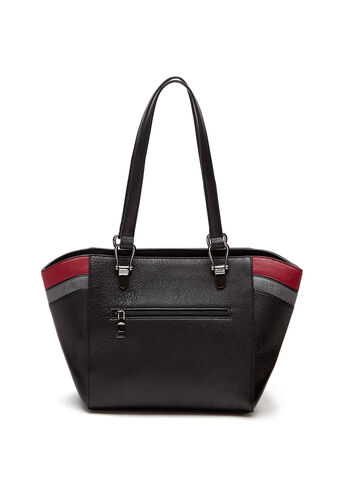 Contrast Stripe Tote Bag, , hi-res