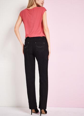 Simon Chang - Slim Leg Jeans, , hi-res