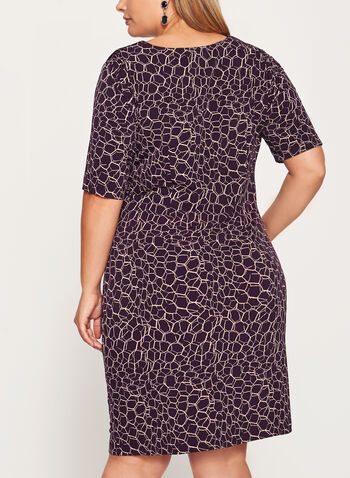Side Tuck Jersey Dress, , hi-res