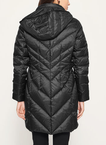 Quilted Down Filled Coat, , hi-res
