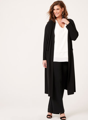 Frank Lyman - Long Open Cardigan , , hi-res