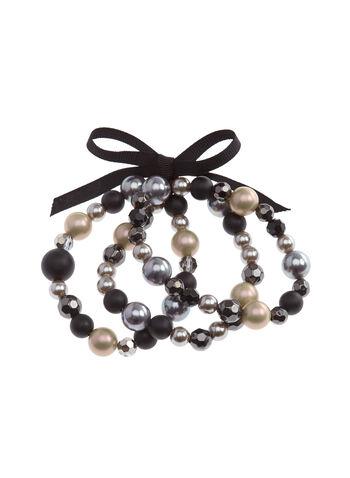 Stretch Beaded Bracelet Set, , hi-res