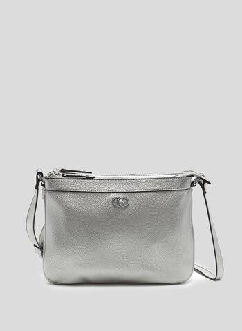 Double Zip Crossbody Bag, , hi-res
