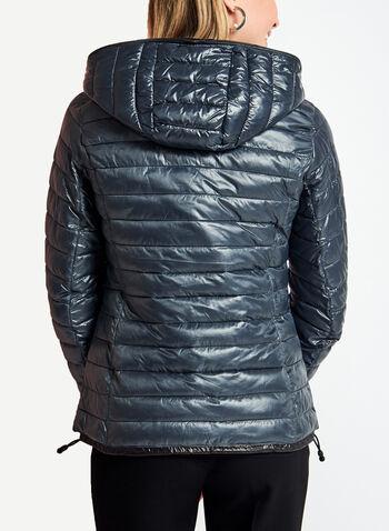 Manteau matelassé en duvet compressible, , hi-res