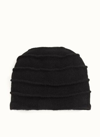 Pleated Wool Hat , , hi-res