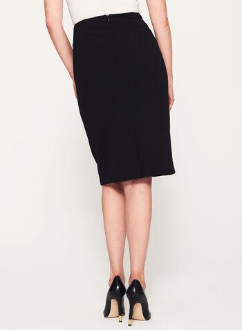 Studded Pencil Skirt, , hi-res