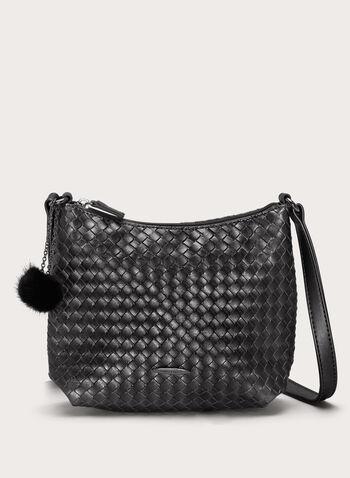 Basket Weave Crossbody Bag, , hi-res