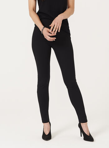 Pull On Knit Leggings , , hi-res