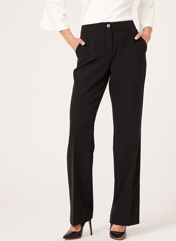 Modern Fit Wide Leg Pants, , hi-res