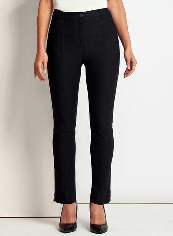Pantalon 7/8 coupe moderne à jambe étroite, , hi-res