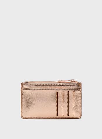 Credit Card Holder & Coin Purse, Pink, hi-res